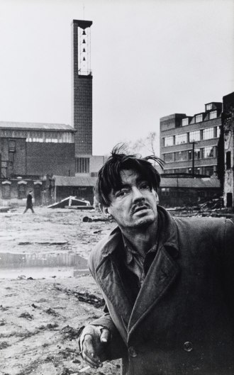Don McCullin Down-and-out begging for help, Aldgate, 1963 / © Don McCullin, courtesy Hamiltons Gallery, London