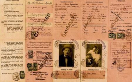 Džojsov ratni porodični pasoš